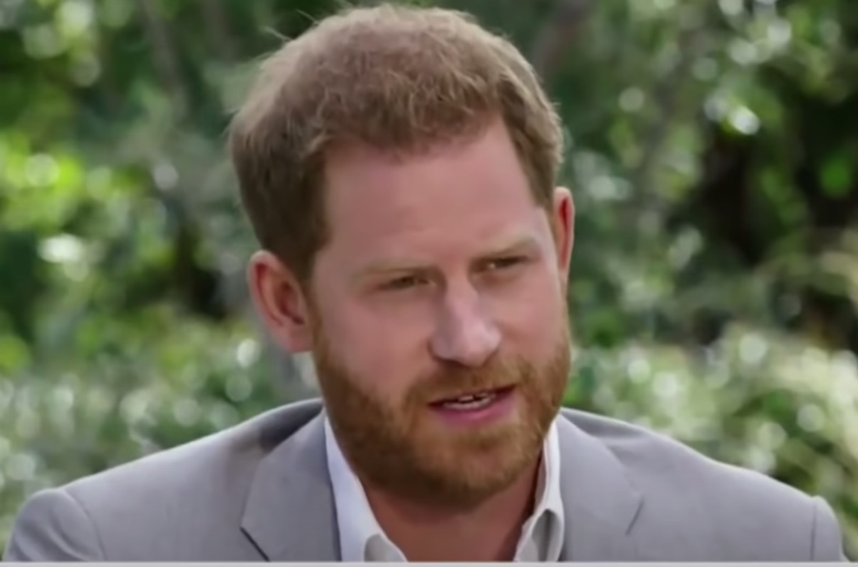 Prince Harry discusses the Palace's relationship with the tabloids in Oprah interview on CBS on Mar. 7