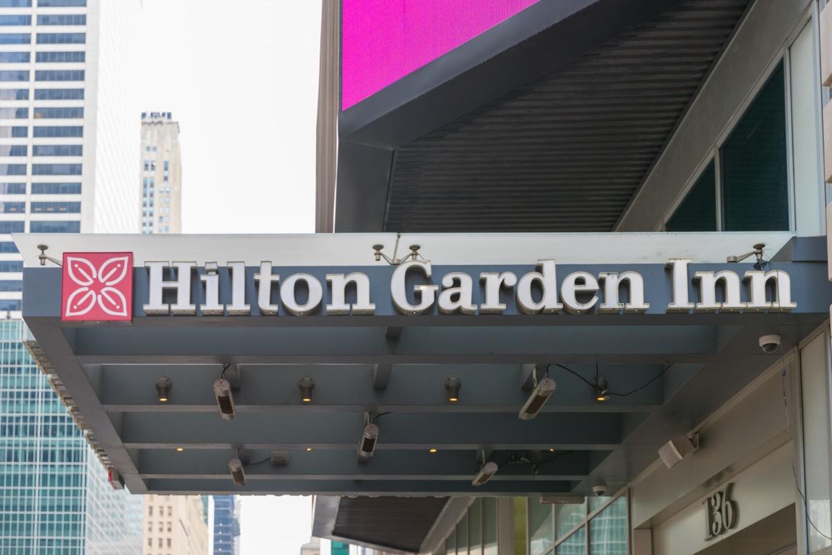 Hilton Garden Inn in New York City