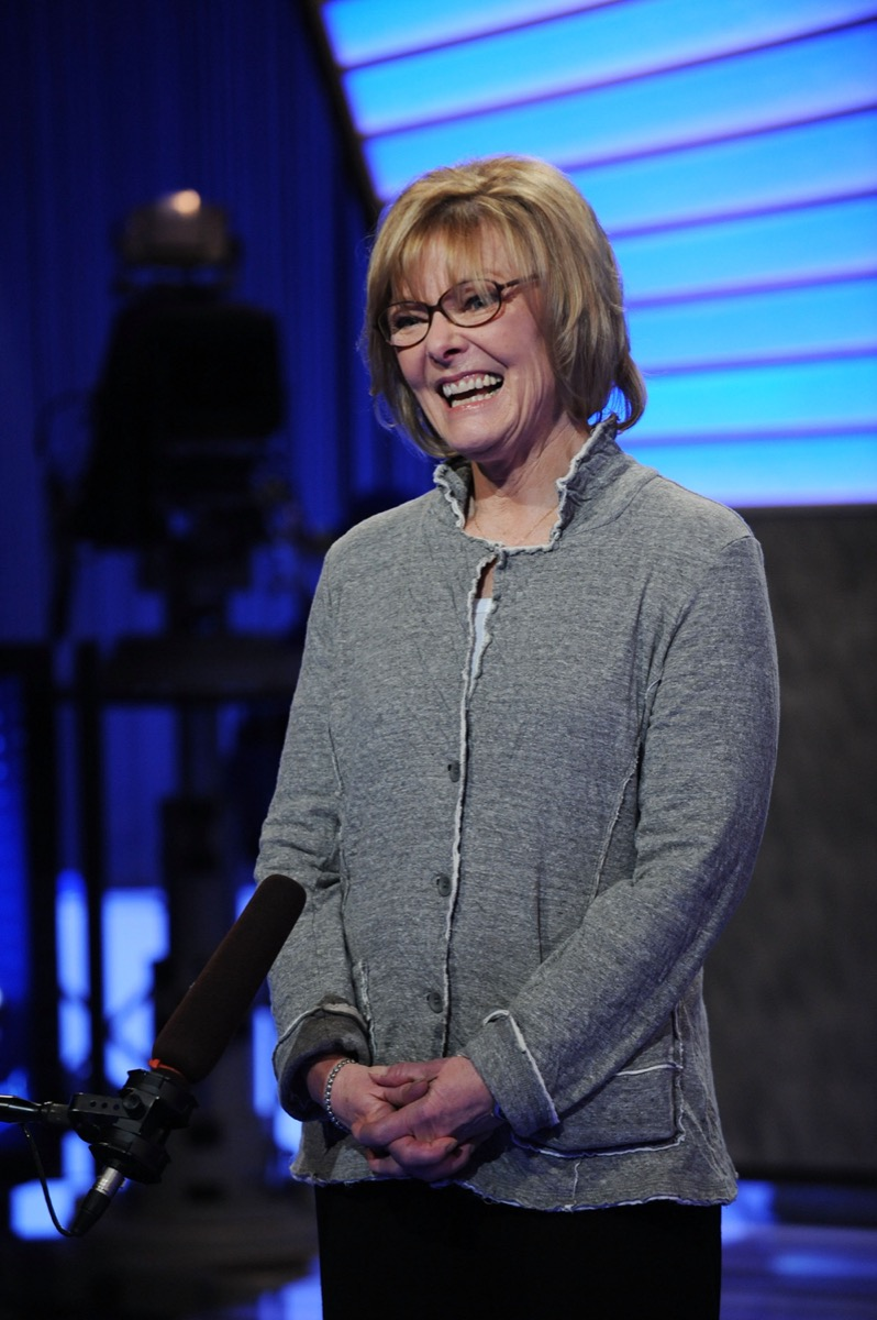 """Jane Curtin at the """"Jeopardy!"""" Million Dollar Celebrity Invitational in 2010"""