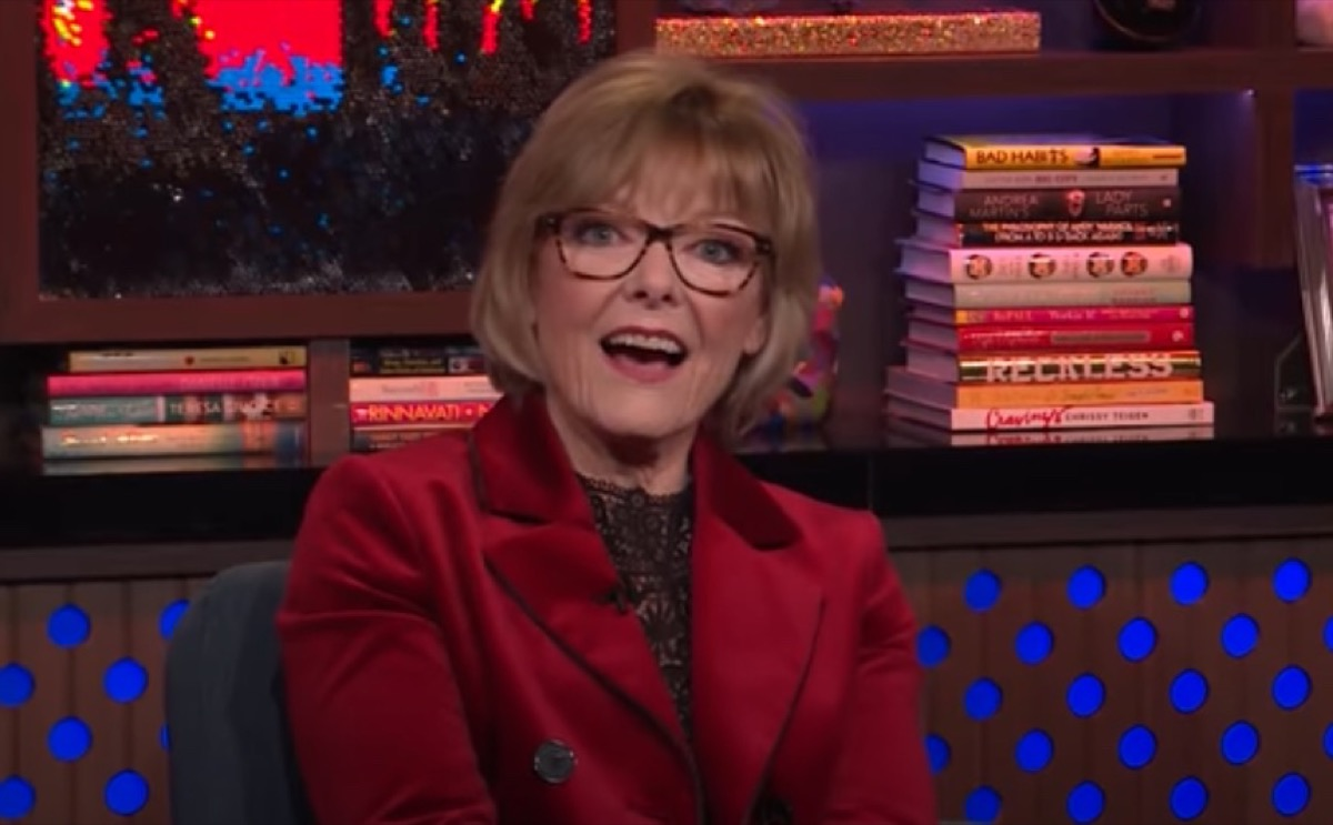 """Jane Curtin on """"Watch What Happens Live"""" in 2018"""
