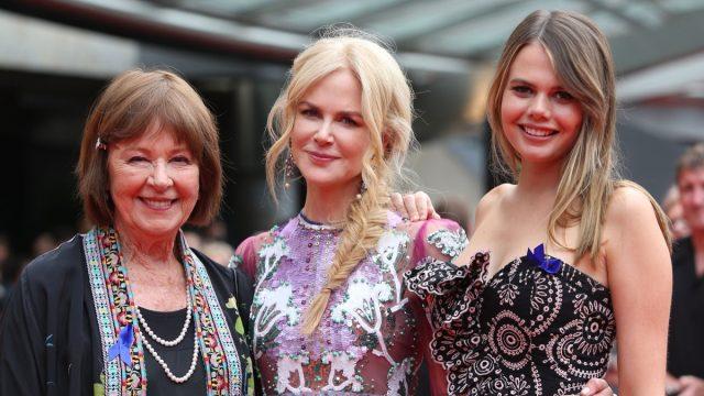 Janelle Kidman, Nicole Kidman, and Lucia Hawley at the 2018 AACTA Awards