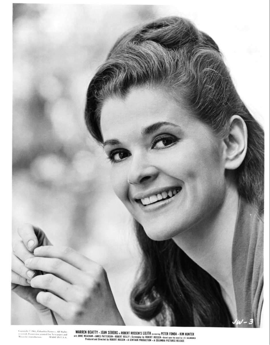 jessica walter in black and white photo dated 1964