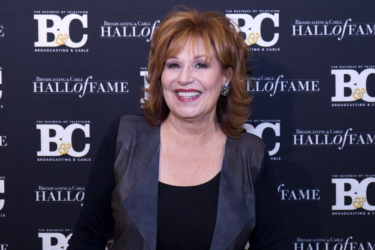 Joy Behar at the Broadcasting and Cable Hall of Fame Gala in 2017