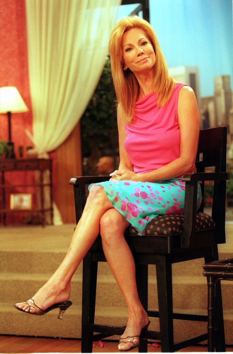 """Kathie Lee Gifford's final appearance on """"Live With Regis and Kathie Lee"""" in 2000"""