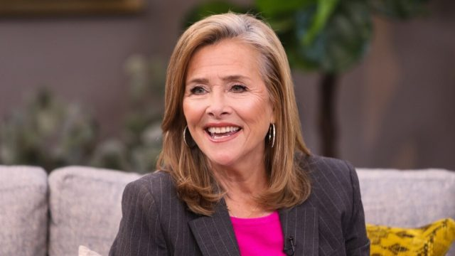 """Meredith Vieira visits the Hallmark Channel's """"Home & Family"""" in 2019"""