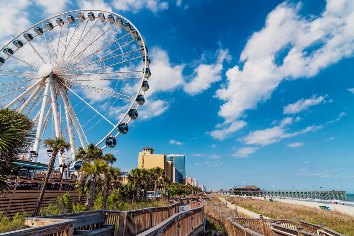 cityscape photo of Myrtle Beach, South Carolina
