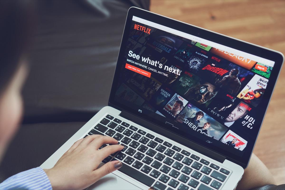 netflix login screen