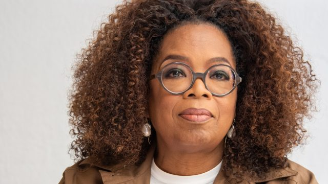 """Oprah Winfrey at the """"David Makes Man"""" Press Conference at the Four Seasons Hotel on August 06, 2019 in Beverly Hills, California"""