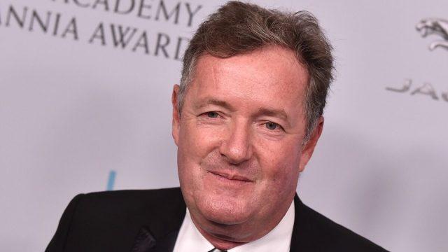 Piers Morgan at the 2019 British Academy Britannia Awards