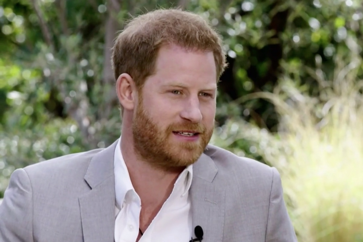 Prince Harry discusses his relationship with Prince Charles in Oprah interview on CBS on Mar. 7