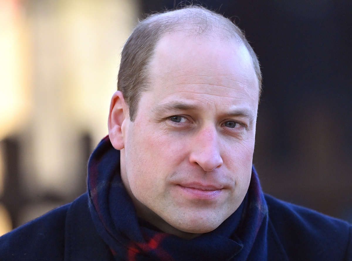 Prince William, Duke of Cambridge visits Cardiff Castle on December 8, 2020 in Cardiff, Wales