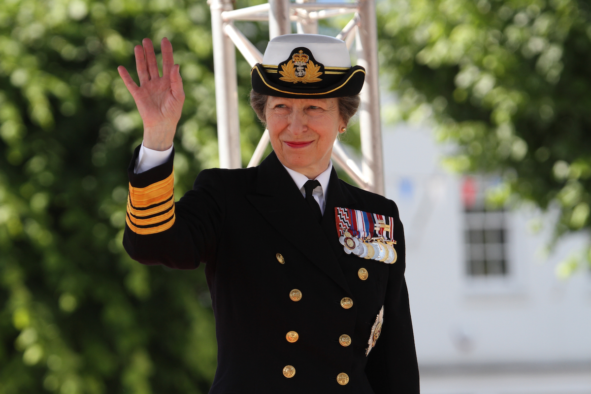 HRH The Princess Royal, Princess Anne attending the 2019 National Armed Forces Day.