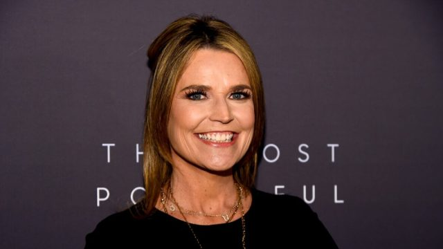 """Savannah Guthrie at the """"Most Powerful People in Media"""" event in 2019"""