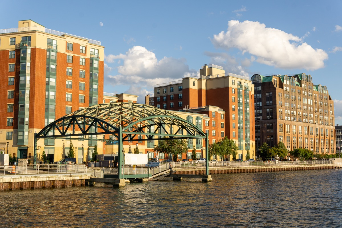 waterfront view, buildings, yonkers, new york