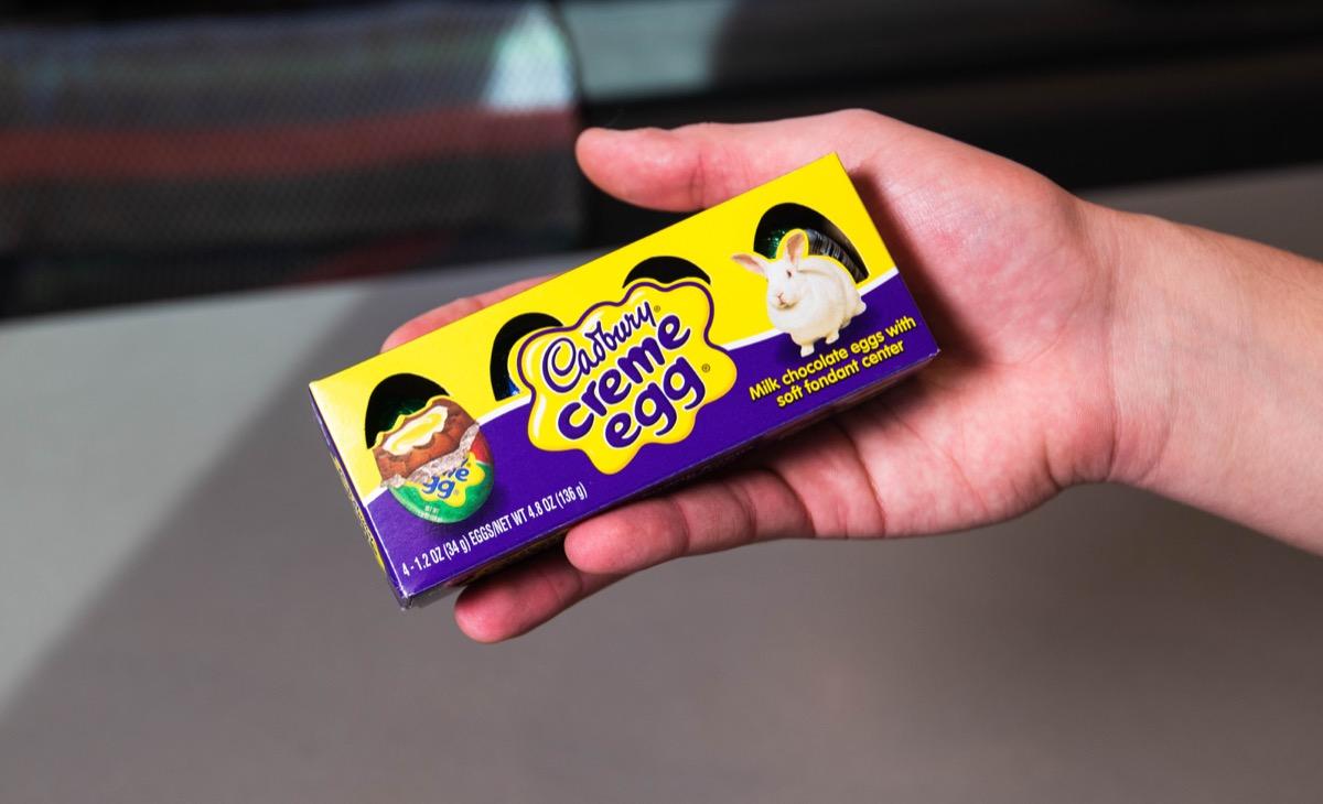 cadbury creme eggs in package