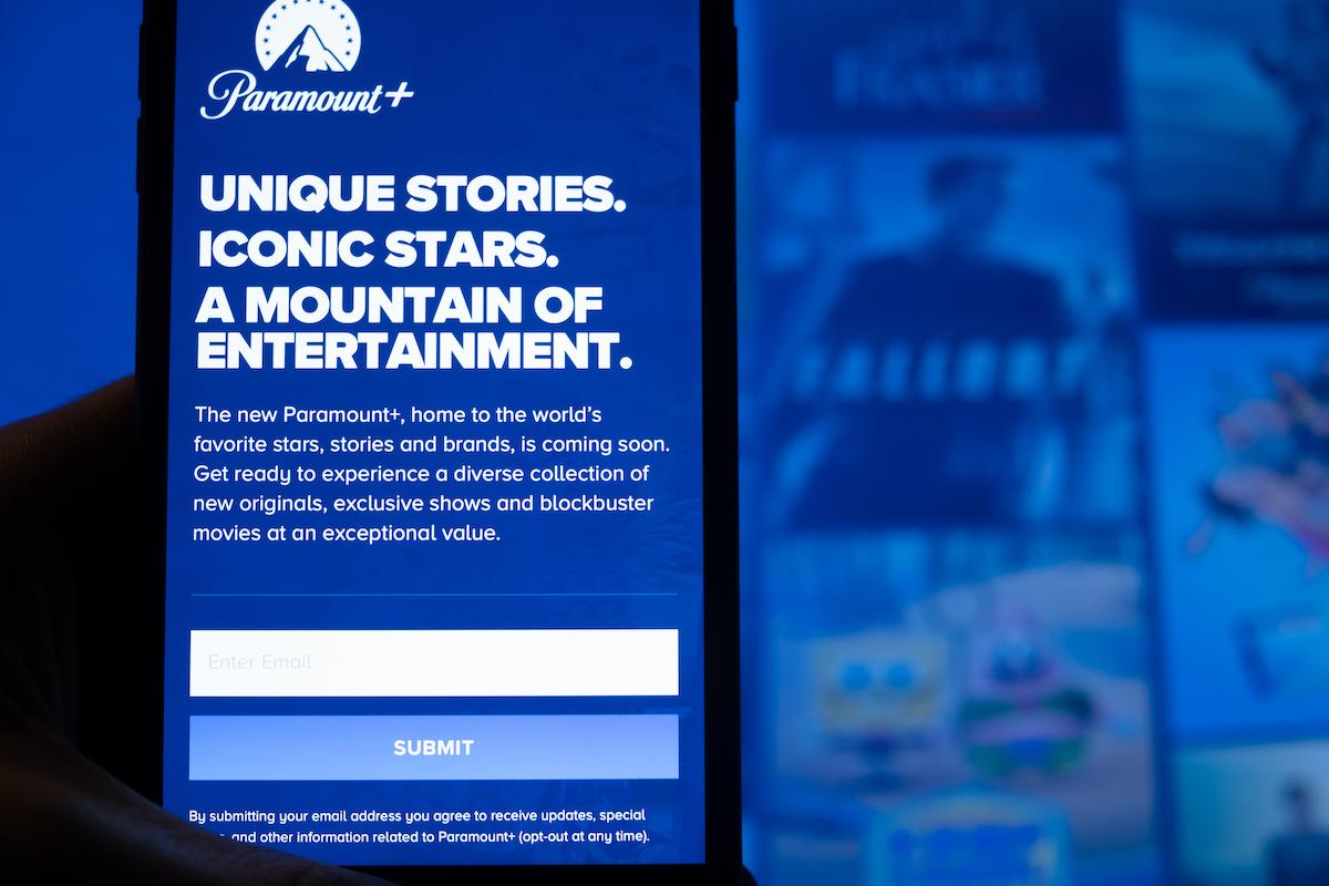 Paramount plus streaming app