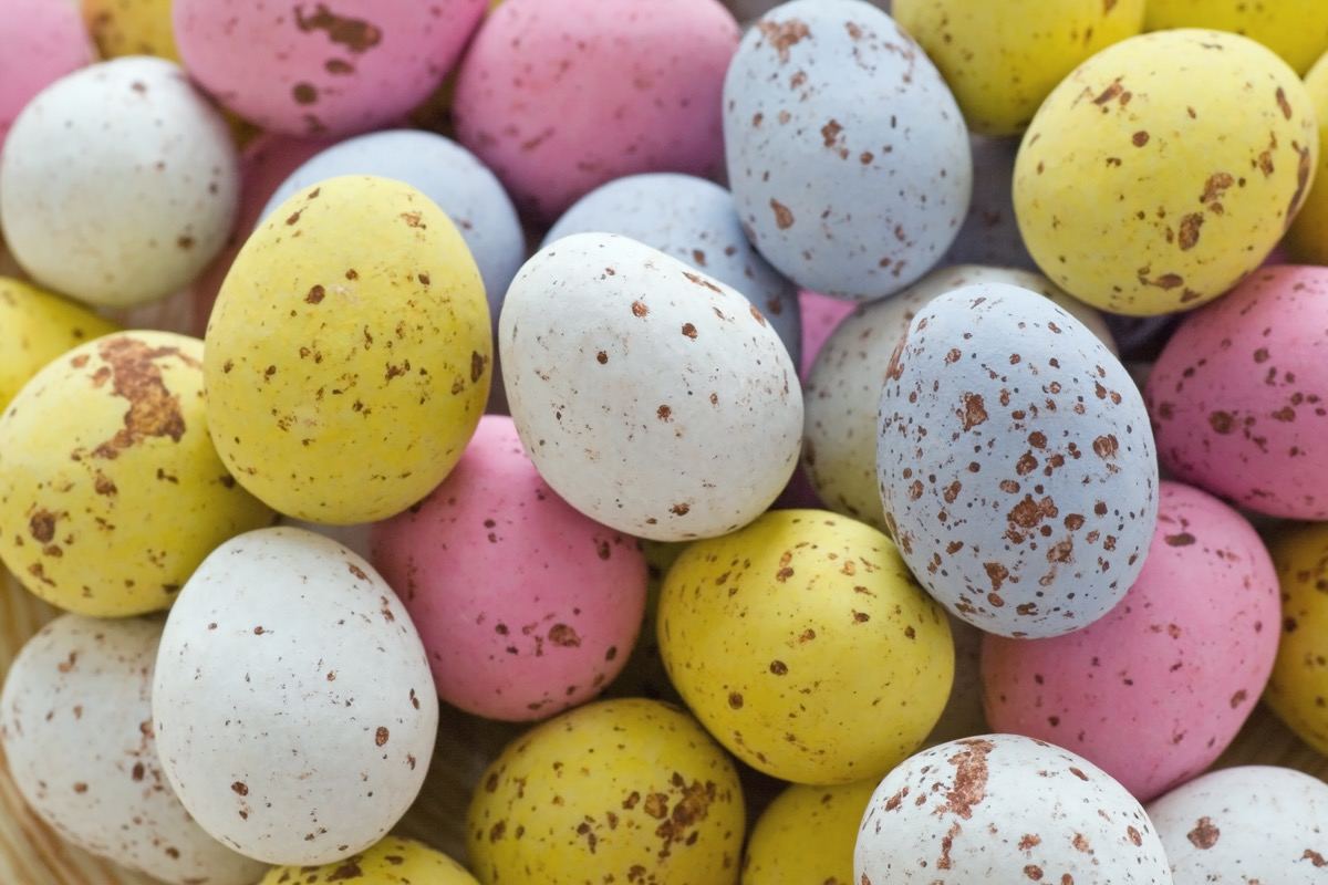 mini chocolate eggs, easter candy