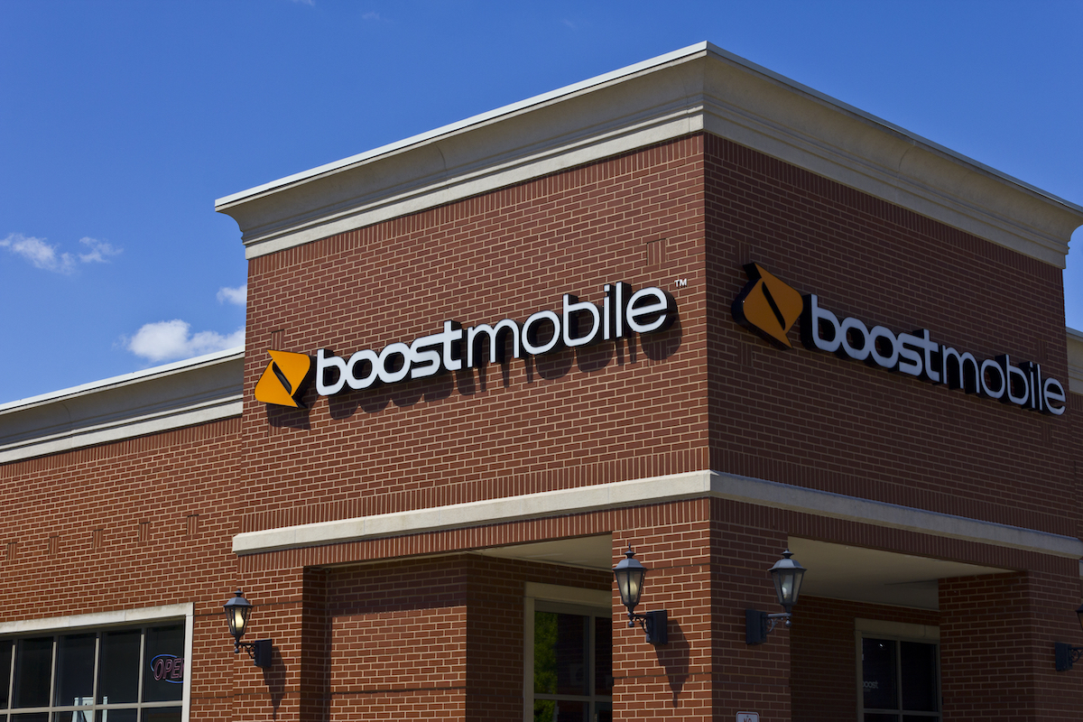 Boost Mobile store exterior