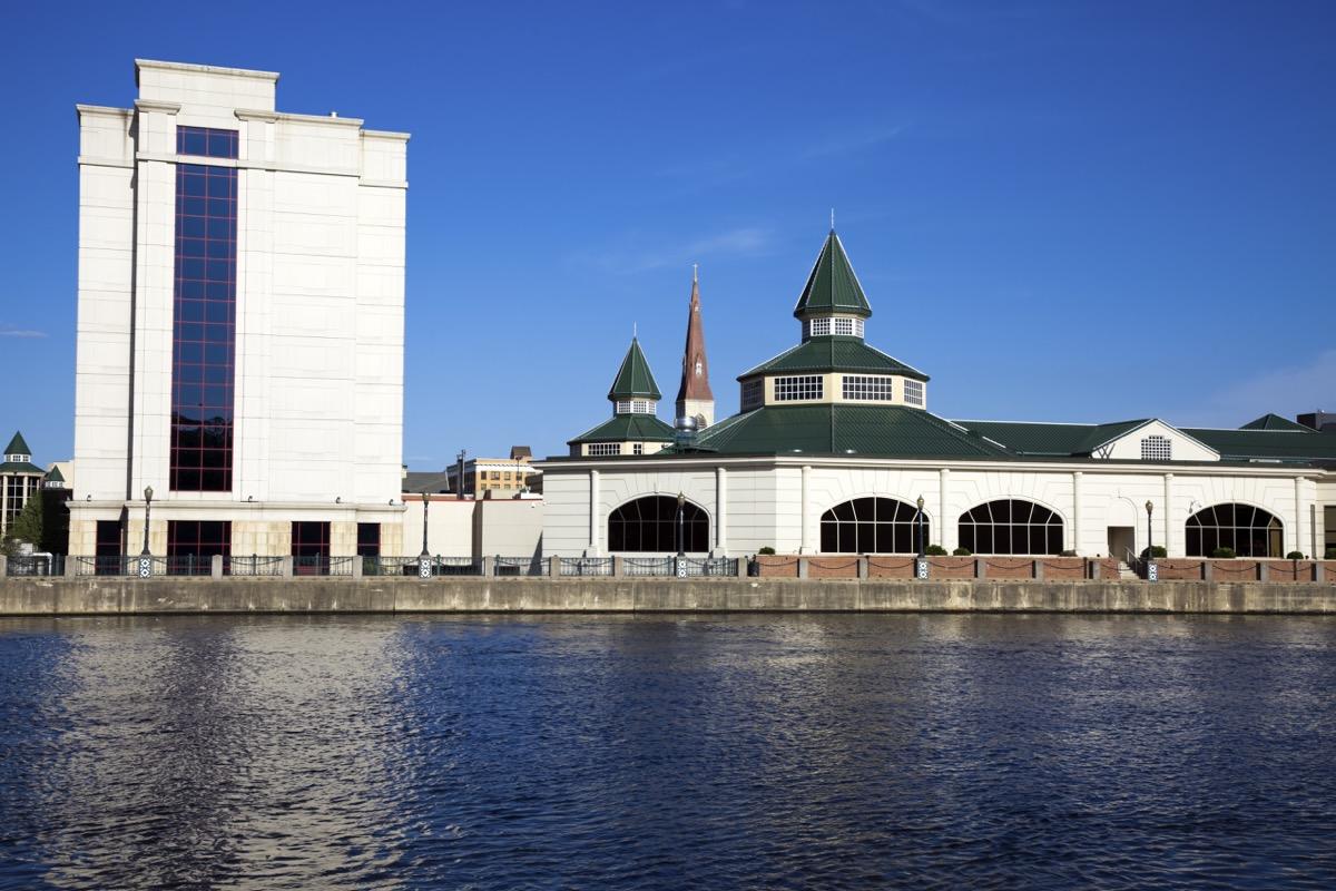 white building, joliet, illinois
