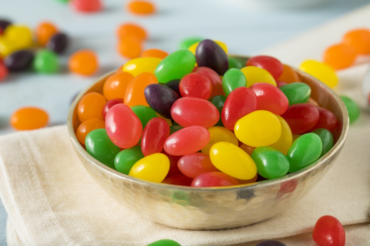colorful jelly beans, easter candy