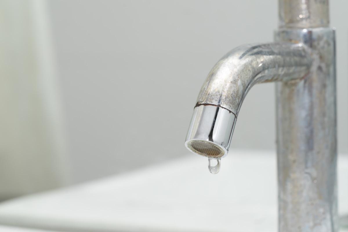 Dripping sink