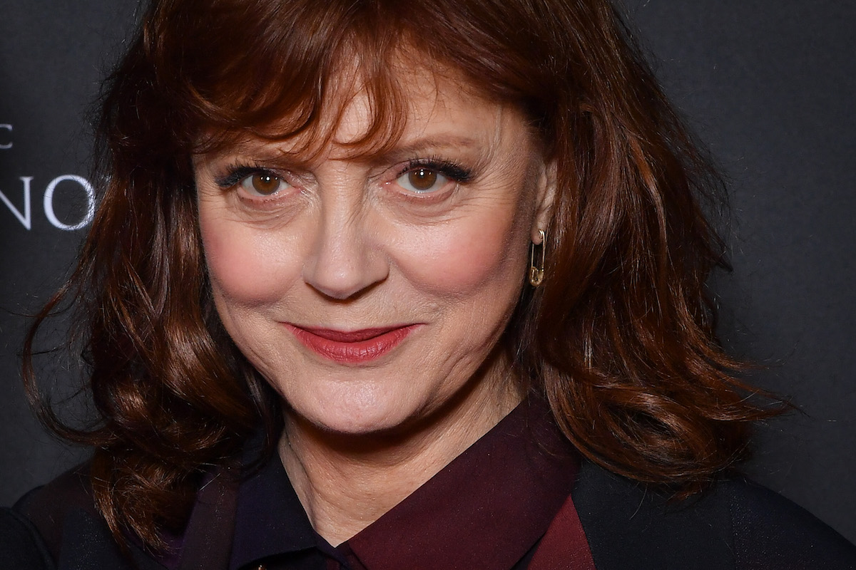 """Susan Sarandon attends the """"Ma Vie Avec John F.Donovan"""" Premiere at Mk2 Bibliotheque on February 28, 2019 in Paris, France."""