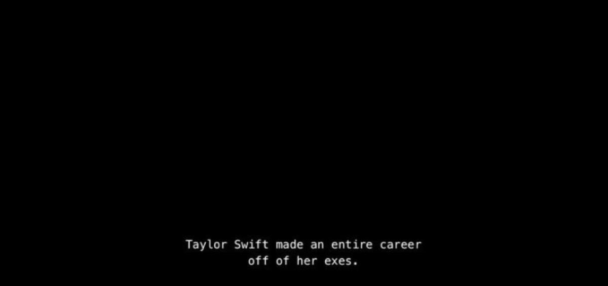 Joke about Taylor Swift on Netflix on Degrassi