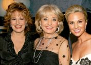 """Joy Behar, Barbara Walters and Elisabeth Hasselbeck from """"The View"""" at 34th Annual Daytime Emmy Awards"""