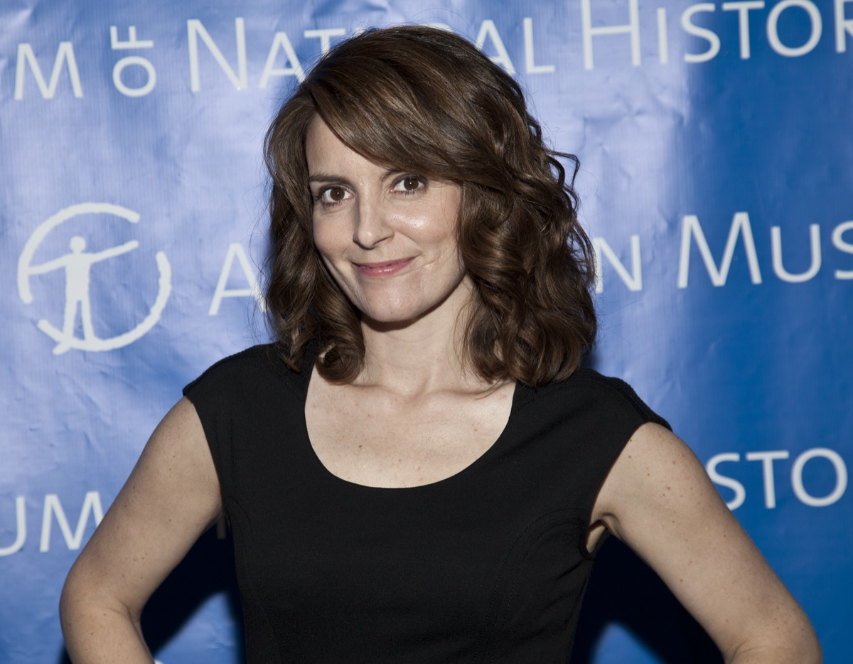 Tina Fey attends the American Museum of Natural History Gala in 2010
