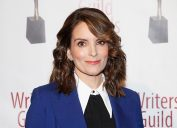 Tina Fey at the 72nd Annual Writers Guild Awards in 2020