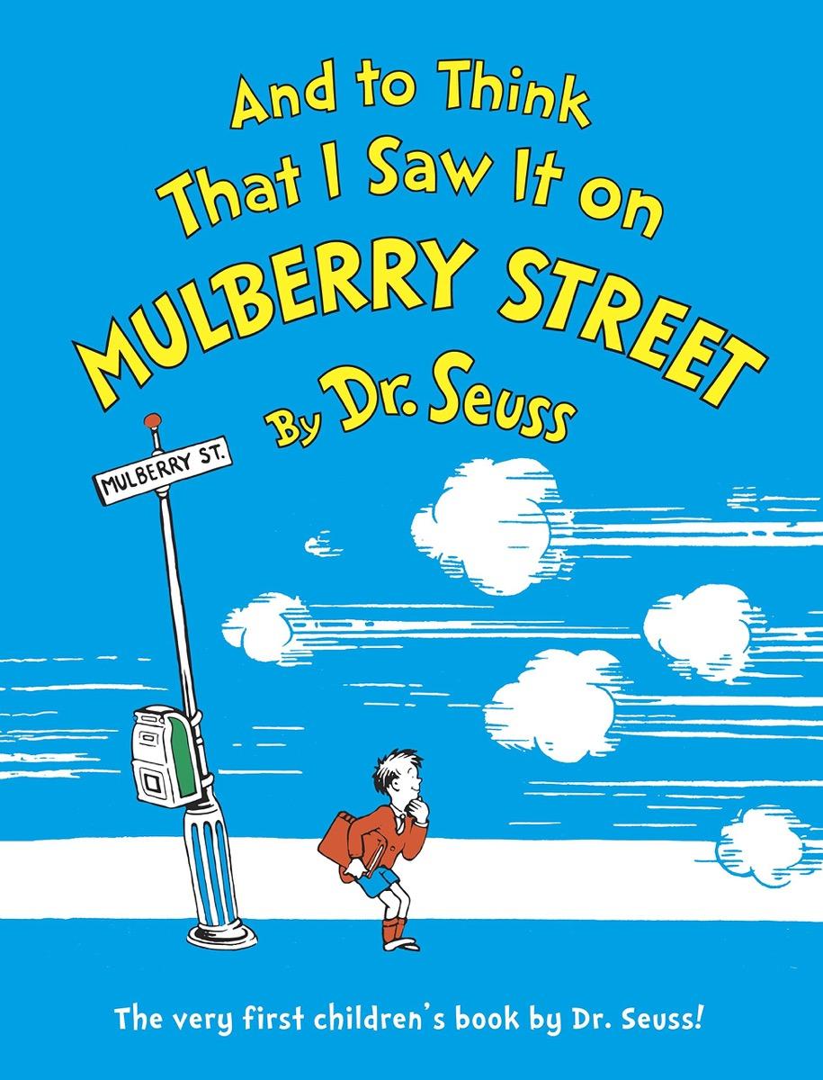 dr. seuss' first children's book