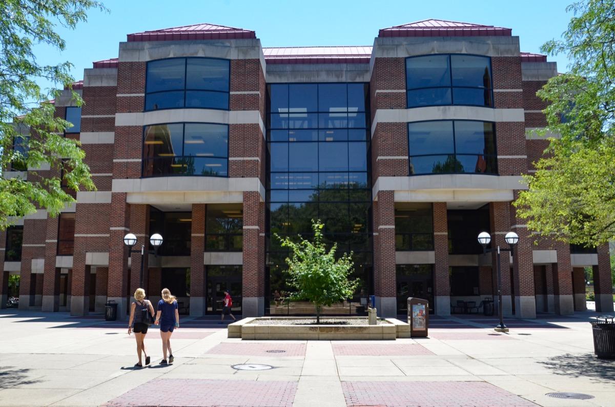 Shapiro Library at University of Michigan