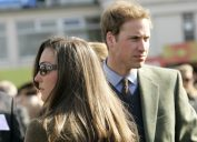 Prince William & Kate Middleton Attend The First Day Of The Cheltenham Festival Race Meeting.