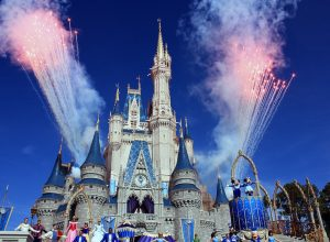 fireworks at cinderella's castle at the magic kingdom