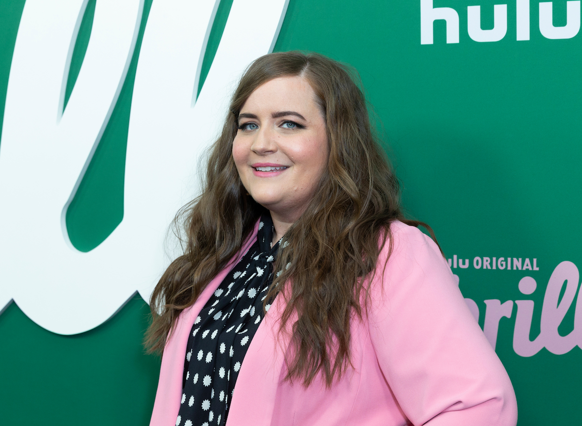 """Aidy Bryant at the premiere of """"Shrill"""" in 2019"""
