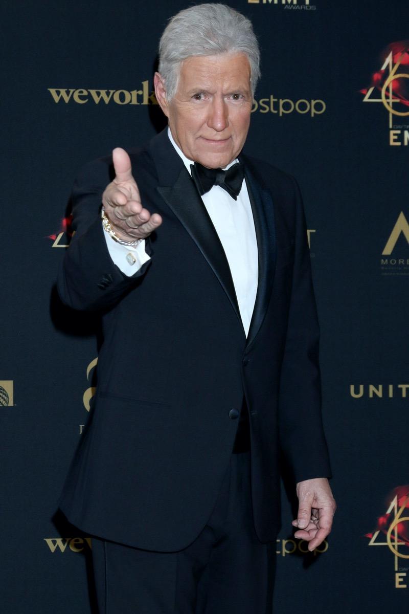 Alex Trebek at 2019 Daytime Emmys