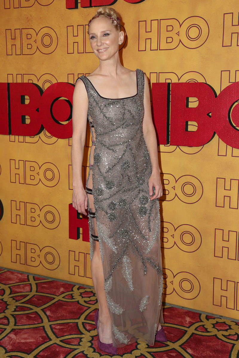 Anne Heche at an HBO party in 2017