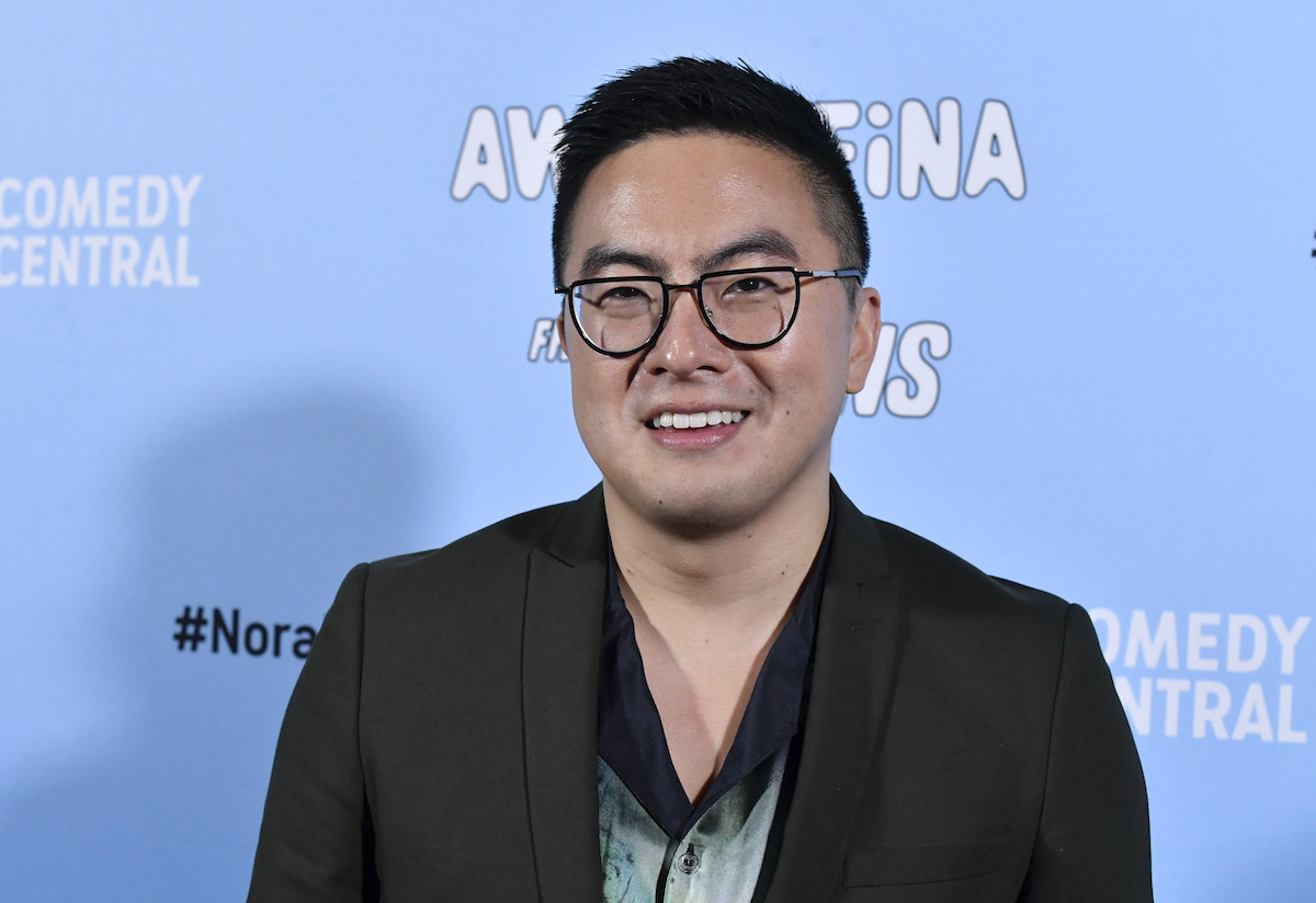 """Bowen Yang at the premiere of """"Awkwafina is Nora from Queens"""" in January 2020"""