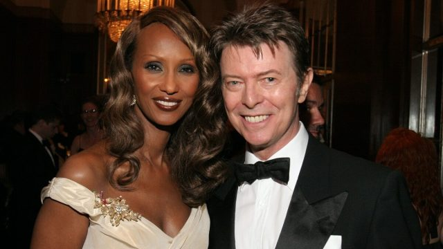 Iman and David Bowie in 2007