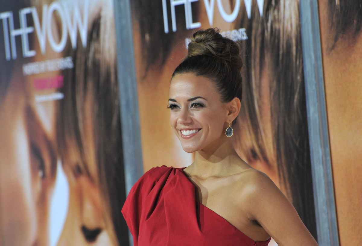 """Jana Kramer at the premiere of """"The Vow"""" in 2012"""
