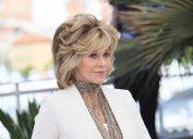 Jane Fonda at the Cannes Film Festival in 2015