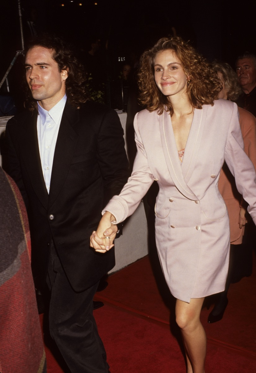 Jason Patric and Julia Roberts in 1991