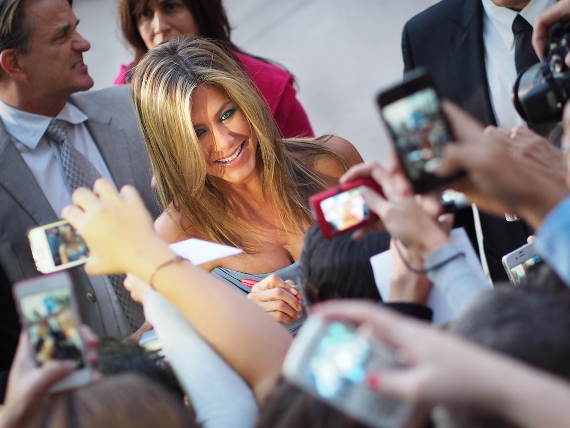 Jennifer Aniston at the Toronto International Film Festival in 2013