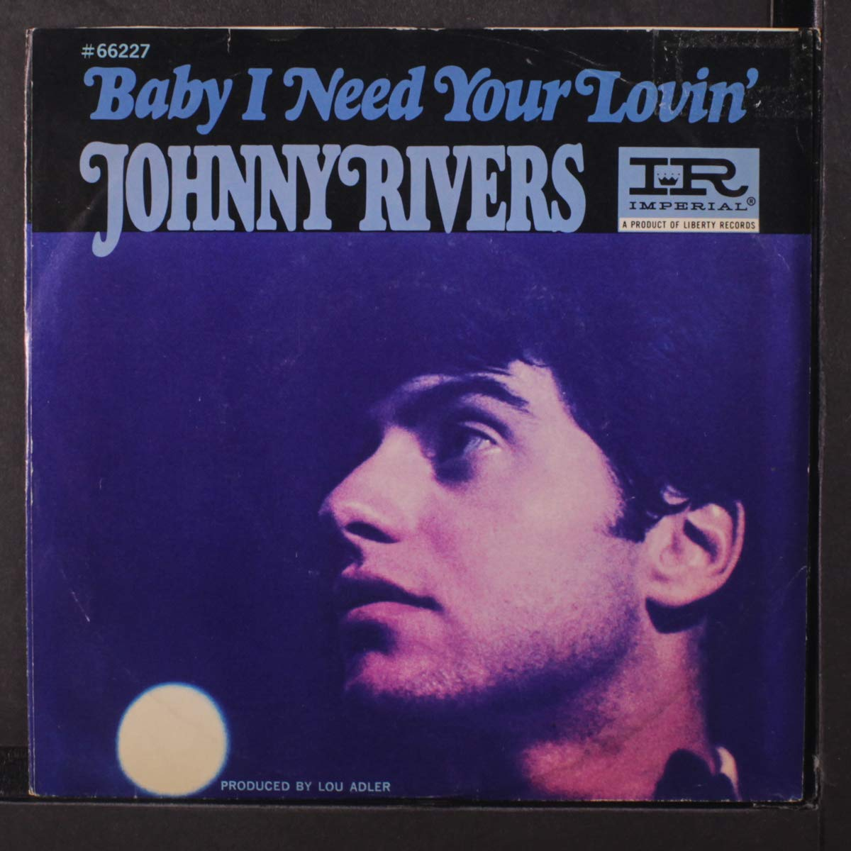 """Johnny Rivers """"Baby I Need Your Lovin'"""" Cover"""