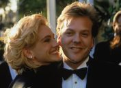 Julia Roberts and Kiefer Sutherland in 1990