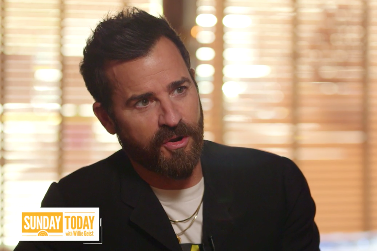 """Justin Theroux on """"Sunday Today"""""""