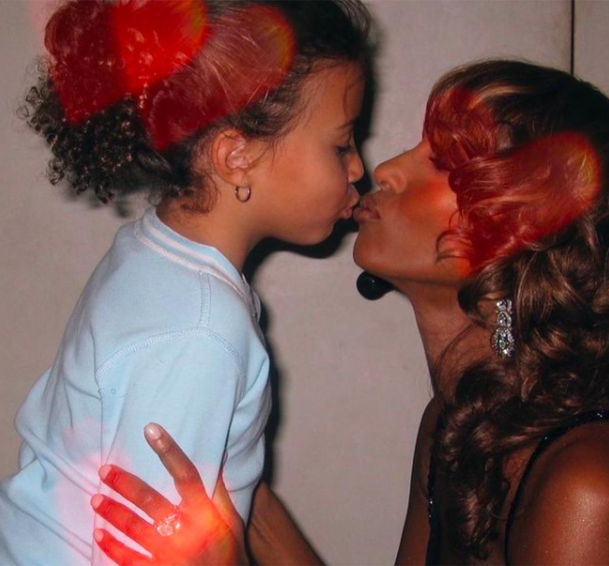 Lexi Jones and Iman