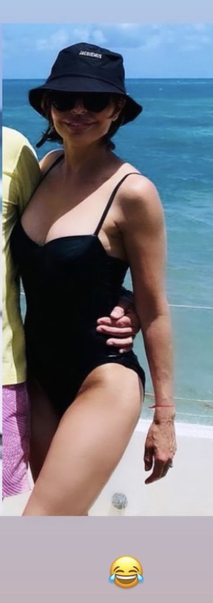 Lisa Rinna in swimsuit on Instagram