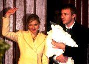 Madonna Guy Ritchie Rocco christening