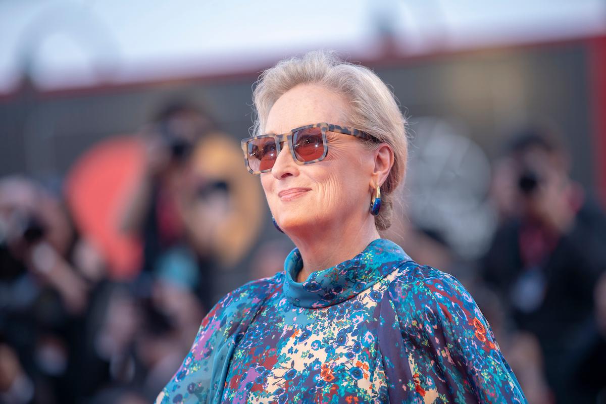Meryl Streep at the Venice Film Festival in 2019